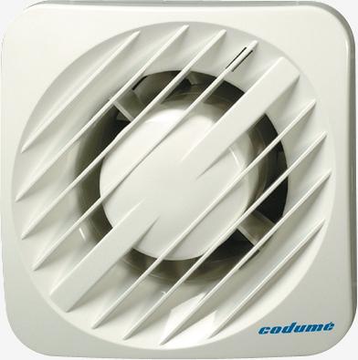 Krachtige en zuinige ventilatie voor badkamer - Codumé